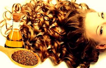 Масло льна для красоты волос