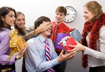 Новый год на работе