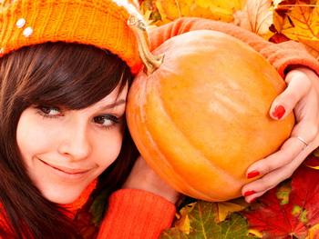 Осенный урожай тывы