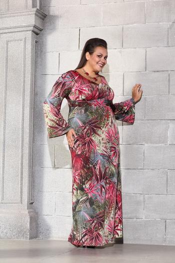 Платье для пышных