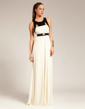 3bd5094e2d5 Длинные черно белые платья в пол - Модадром
