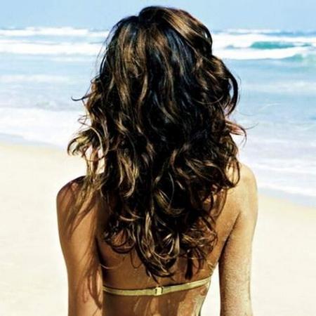 волос в жару