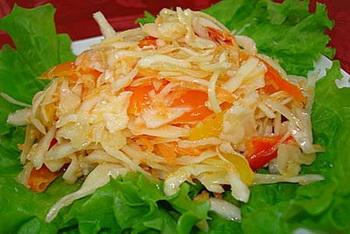 капуста с морковью по-корейски