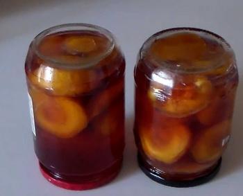 персики и малина