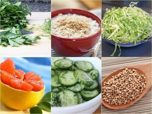 питание при сушке тела