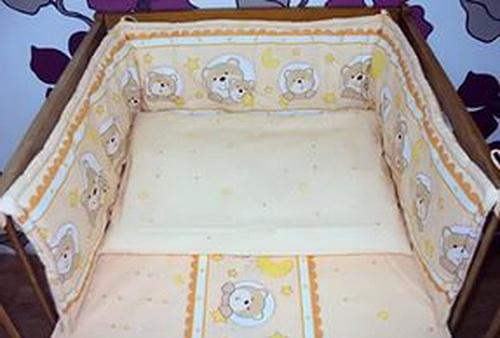 Сшить детское постельное белье в кроватку для новорожденных 61
