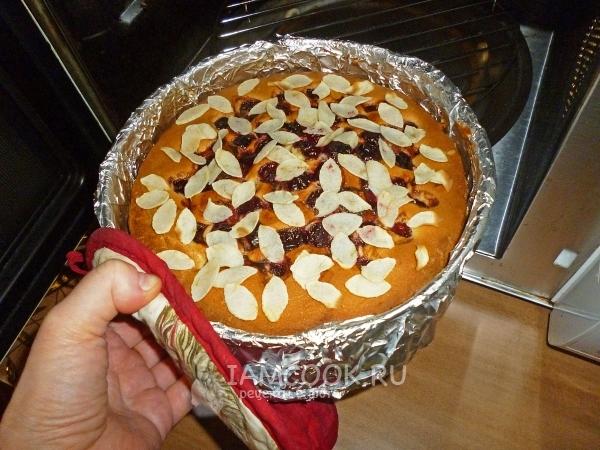 добавление миндаля в венский пирог