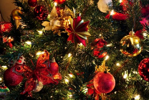 новогодняя елка не осыпалась