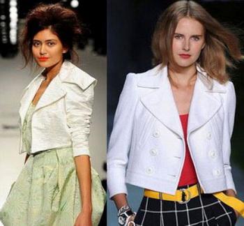 Модели пиджаков