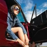 Женщина в автомобиле