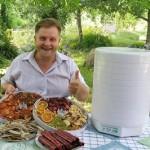 Электросушилка для всех овощей, фруктов и грибов