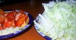 Капуста и томат