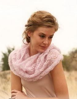 Как носить снуд, или шарф - трубу