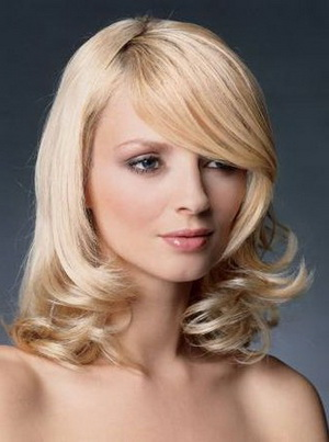 Укладка средних волос