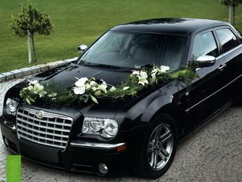 Свадебный автомобиль невесты и жениха