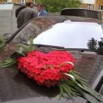 Автомобиль невесты и жениха