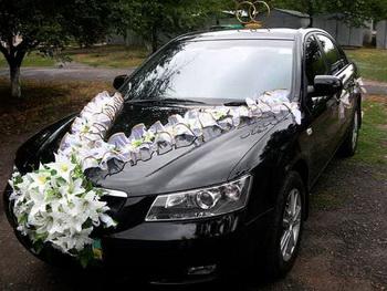 Свадебное авто своими руками