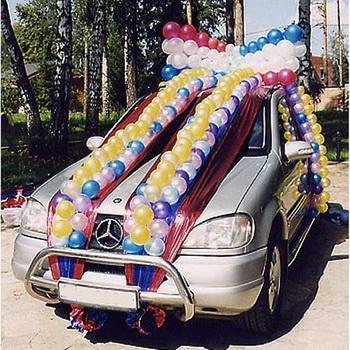 Как украсить свадебную машину самостоятельно