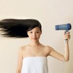 Как уложить волосы без фена