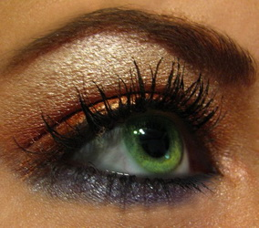 Какие тени подходят зеленым глазам