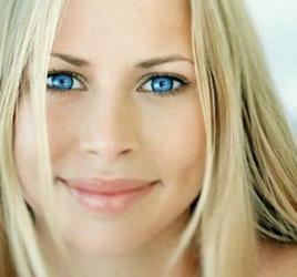Какие тени подходят голубым глазам
