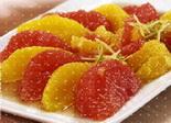 Салат из грейпфрута и ананаса