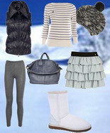 Модные зимние угги