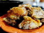 Мясо на скорую руку: куриные бедра
