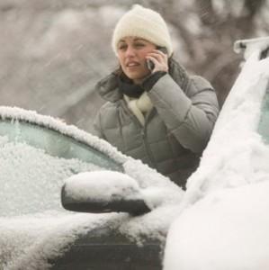 Водитель зимой