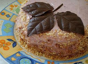Простой песочный торт
