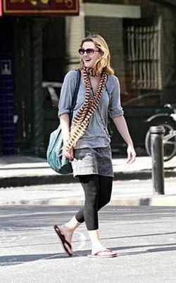 С чем нужно носить лосины