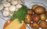 Запеканка с грибами и картофелем